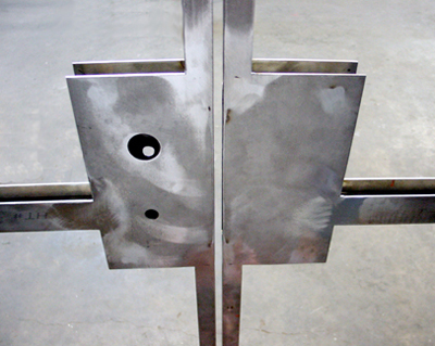 Minimalist Stainless Glass Doors 2