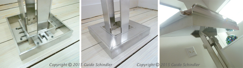 Stainless Book Stand 2